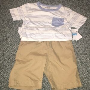 Children's Place 2 piece short set 4T